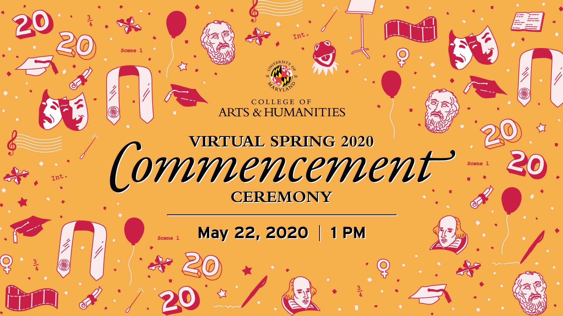 Inset for 2020 arhu commencement